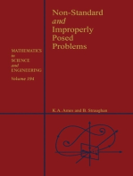 Non-Standard and Improperly Posed Problems