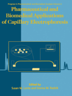 Pharmaceutical and Biomedical Applications of Capillary Electrophoresis