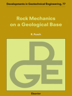 Rock Mechanics on a Geological Base