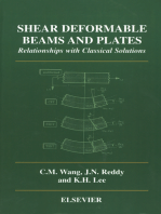 Shear Deformable Beams and Plates: Relationships with Classical Solutions