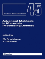 Advanced Methods in Materials Processing Defects