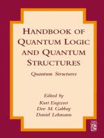 Handbook of Quantum Logic and Quantum Structures