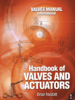 Handbook of Valves and Actuators