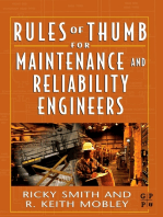 Rules of Thumb for Maintenance and Reliability Engineers
