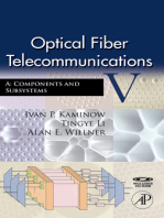 Optical Fiber Telecommunications VA: Components and Subsystems