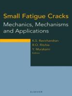 Small Fatigue Cracks