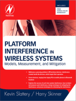 Platform Interference in Wireless Systems