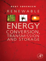 Renewable Energy Conversion, Transmission, and Storage