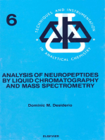 Analysis of Neuropeptides by Liquid Chromatography and Mass Spectrometry