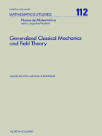 Generalized Classical Mechanics and Field Theory: A Geometrical Approach of Lagrangian and Hamiltonian Formalisms Involving Higher Order Derivatives