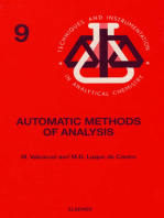 Automatic Methods of Analysis