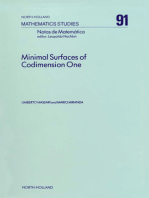 Minimal Surfaces of Codimension One