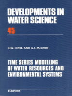 Time Series Modelling of Water Resources and Environmental Systems