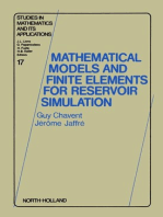 Mathematical Models and Finite Elements for Reservoir Simulation: Single Phase, Multiphase and Multicomponent Flows through Porous Media
