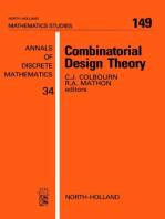 Combinatorial Design Theory
