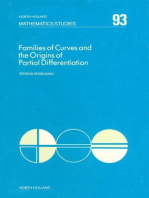 Families of Curves and the Origins of Partial Differentiation