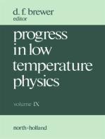 Progress in Low Temperature Physics