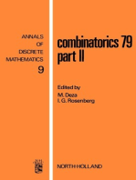 Combinatorics 79. Part II