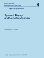Spectral Theory and Complex Analysis