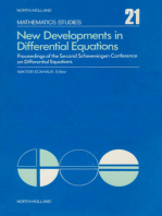New Developments in Differential Equations