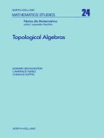 Topological Algebras