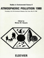 Atmospheric Pollution 1980