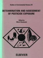 Determination and Assessment of Pesticide Exposure