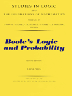 Boole's Logic and Probability