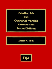 Printing Ink and Overprint Varnish Formulations