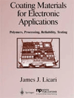 Coating Materials for Electronic Applications