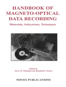 Handbook of Magento-Optical Data Recording: Materials, Subsystems, Techniques