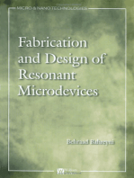 Fabrication and Design of Resonant Microdevices