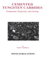 Cemented Tungsten Carbides