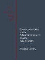 Exploratory and Multivariate Data Analysis