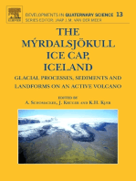 The Myrdalsjokull Ice Cap, Iceland