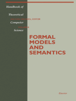 Formal Models and Semantics