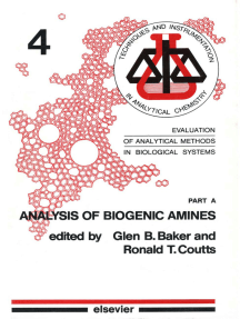 Evaluation of Analytical Methods in Biological Systems: Part A