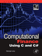 Computational Finance Using C and C#
