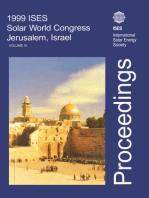 1999 ISES Solar World Congress