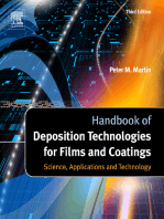Handbook of Deposition Technologies for Films and Coatings