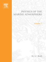 Physics of the marine atmosphere