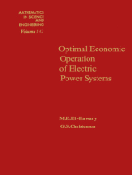 Optimal Economic Operation of Electric Power Systems