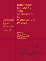Differential Equations with Applications to Mathematical Physics