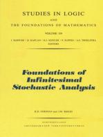 Foundations of Infinitesimal Stochastic Analysis