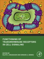 Functioning of Transmembrane Receptors in Signaling Mechanisms