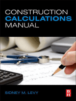 Construction Calculations Manual