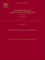 Green Analytical Chemistry: Theory and Practice