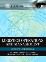Logistics Operations and Management: Concepts and Models