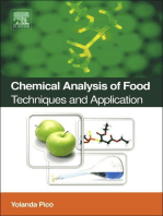 Chemical Analysis of Food