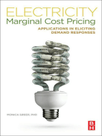 Electricity Marginal Cost Pricing